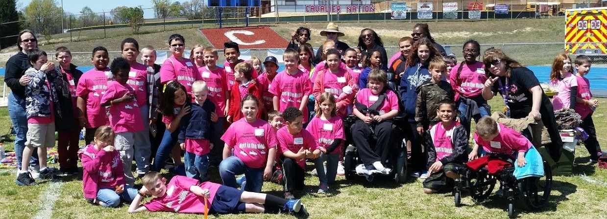 special olympics meet in the middle